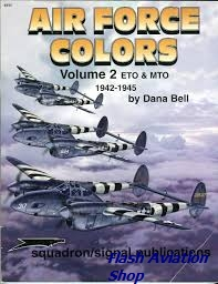 Image not found :Air Force Colors Vol.2 ETO & MTO 1942 - 1945