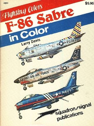 Image not found :F-86 Sabre in Color