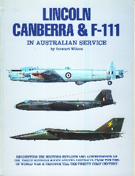 Image not found :Lincoln, Canberra & F-111