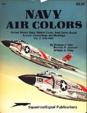 Image not found :Navy Air Colors, Vol.2 1945 -1985
