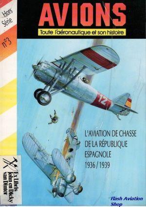 Image not found :L'Aviation de Chasse d/l Republique Espagnol (plastic covor)