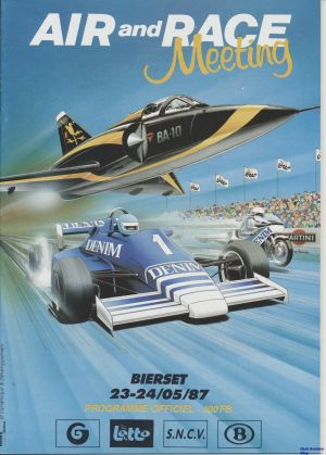 Image not found :Air and Racing Meeting Bierset 1987