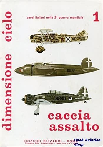 Image not found :Caccia Assalto, CR.32, Ba.61, Ba.88, Ro.44, G