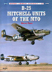 Image not found :B-25 Mitchell Units of the MTO