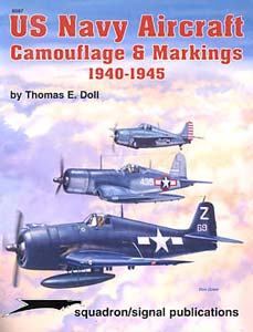 Image not found :US Navy Aircraft Camouflage & Markings 1940-45