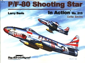 Image not found :P-80 Shooting Star In Action (Color)