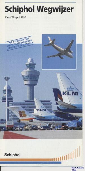 Image not found :Schiphol Wegwijzer, vanaf 28 april 1992