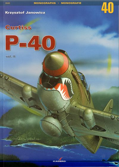 Image not found :Curtiss P-40 Vol. II. Includes free masking foil