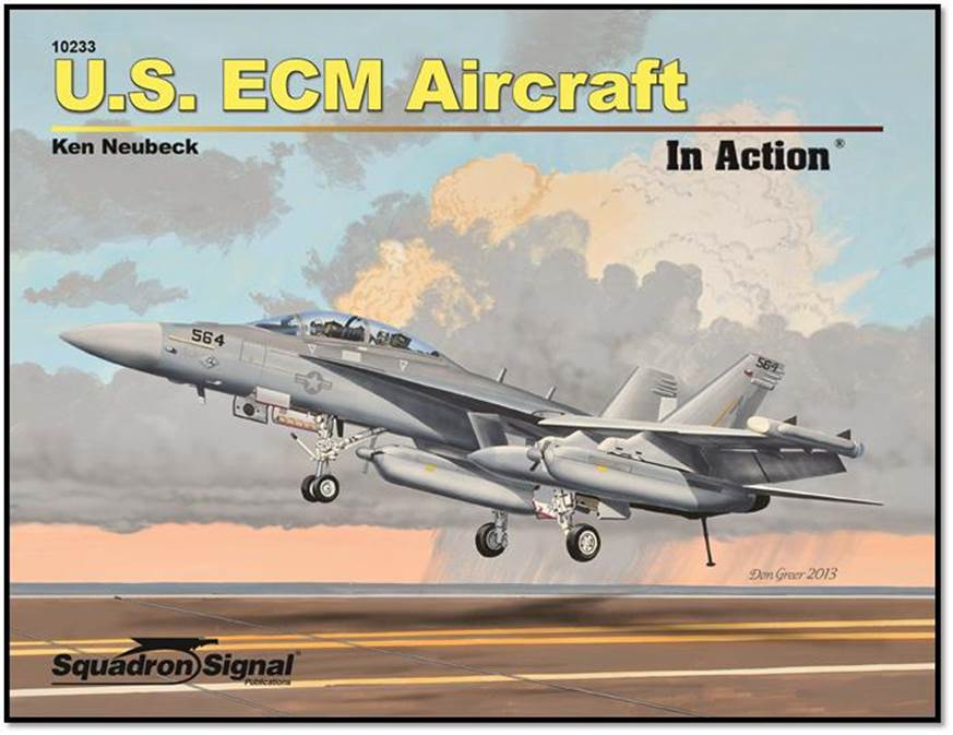 Image not found :U.S. ECM Aircraft in Action