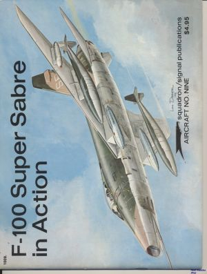Image not found :F-100 Super Sabre In Action (reprint)