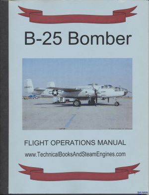 Image not found :B-25 Bomber, Flight Operations Manual
