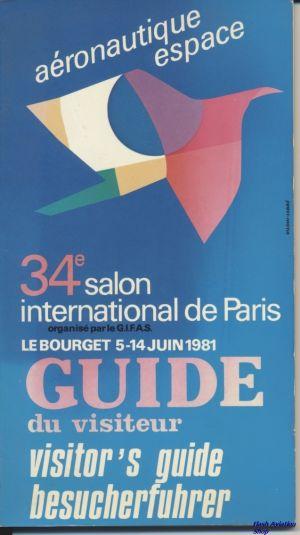 Image not found :Aeronautique Espace, 34e Salon International de Paris (1981)