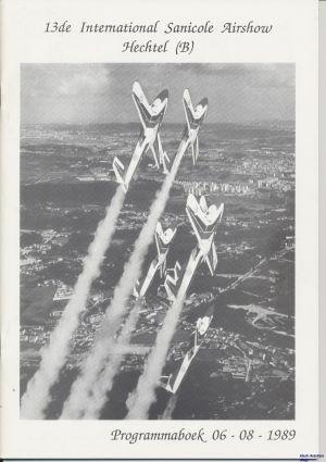 Image not found :13. Internationale Vliegshow Aeroclub Sanicole - Hechtel 06-08-89