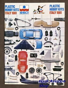 Image not found :ESCI Revell Plastic Hobby Kits Italy 1981
