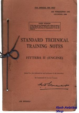 Image not found :Standard Technical Training Notes Fitters II (Engine)