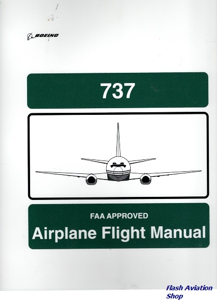 Image not found :737 Airplane Flight Manual (Empty !)