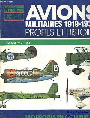 Image not found :Avions Militaires 1919-1939 Profils et Histoire