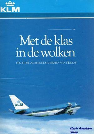 Image not found :Met de Klas in de Wolken, Kijkje achter schermen van de KLM (1990)