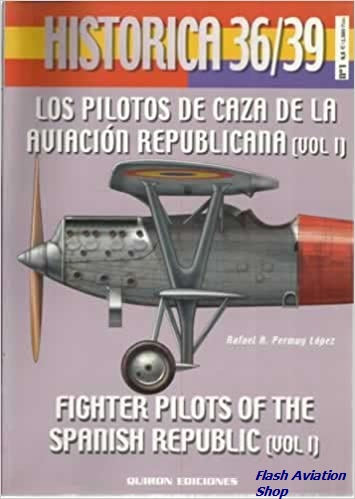 Image not found :Los Pilotos de Caza de la Aviacion Republicana (vol.1)