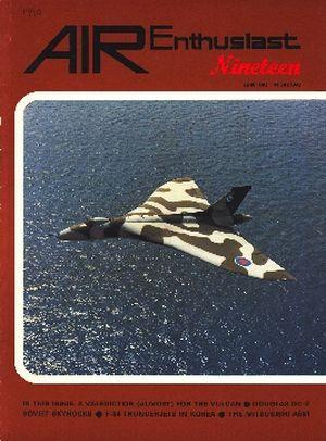 Image not found :Aug/Nov 1982. Predacious Parasite, Vulcan, Mitsubishi A5M, Thunderjets in Korea, A5M