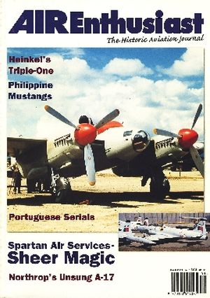 Image not found :May/Jun 1998. He.111, Philippine Mustangs, Portuguese Serials, Spartan Air Services - Sheer Magic, Northrop A-17, Do27