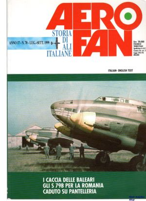 Image not found :Jul-Sep 1999. S.79B in Romania, Lancasters over Genoa