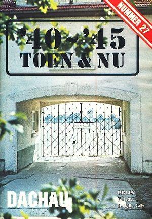 Image not found :DACHAU Hoofdartikel over het concentratiekamp. Het Webling incident. Wrakkenberging: Epping Forest de Ju-88. Misdaad in W.O. II: Het 10e Amerikaanse d