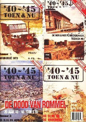 Image not found :DE DOOD VAN ROMMEL Speciale editie. 20 jaar '40-'45 Toen & Nu.