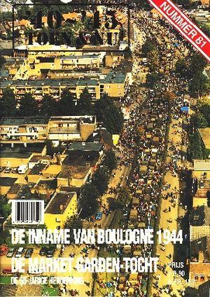 Image not found :INNAME BOULOGNE 1944 De Market Gardentocht 50 jarige herdenking.