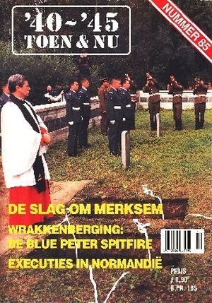 Image not found :DE SLAG OM MERKSEM Wrakkenberging: De Blue Spitfire. Executies in Normandie. Australische militaire gedenkplatenproject. Bewaring van historisch erfgo