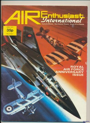 Image not found :Apr 1974 (Air Enthusiast International), RAF Anniversary Issue