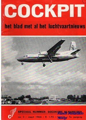 Image not found :Maart 1966, Speciaal nummer: Goedkope Vliegreizen