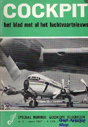 Image not found :Maart 1967, Speciaal nummer: Goedkope Vliegreizen