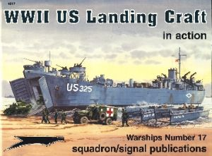 Image not found :WWII US Landing Craft in Action
