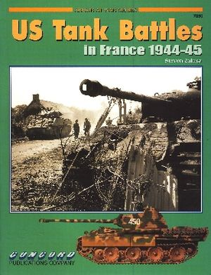 Image not found :US Tank Battles in France 1944-1945
