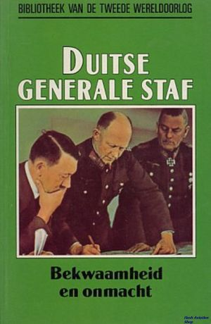 Image not found :Duitse Generale Staf, Bekwaamheid en Onmacht